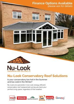 Nu Look Conservatory Roof Brochure
