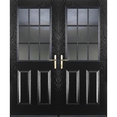 Composite Twin Door