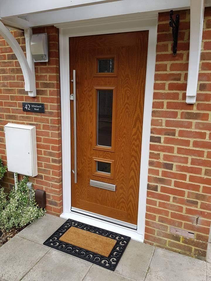 designing composite front door